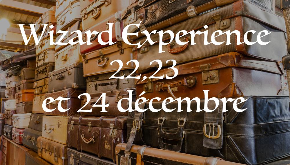 Évènement Wizard Experience